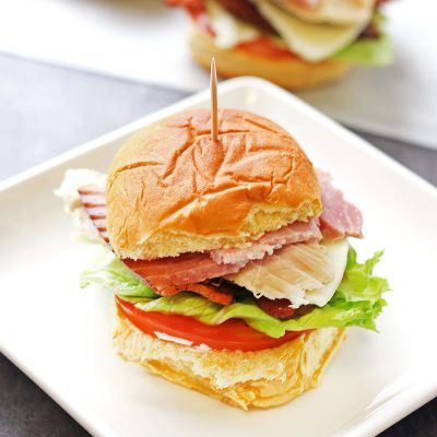 Club Sandwich Sliders
