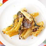 Spinach Mushroom Alfredo Baked Ziti