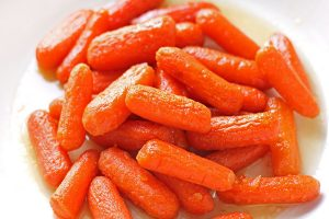 Honey Roasted Glazed Carrots are a tender, sweet side dish that makes a perfect addition to any meal.