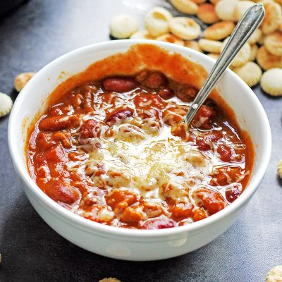 Pumpkin Chili #PumpkinWeek