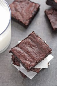 Rich Dark Chocolate Brown Butter Brownies