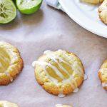 Key Lime Thumbprint Cookies